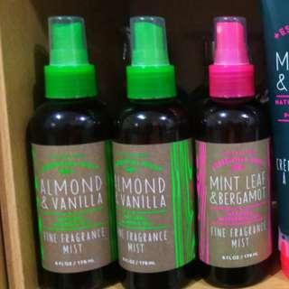 Bath and Body Works Essential Oil Fragrance Mist