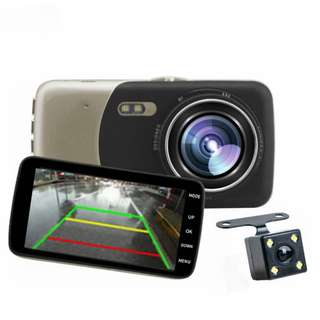 Car Camera High Definition Night Vision Car DVR Driving Recorder Features 100% brand new and high quality!