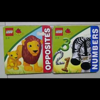 Lego Duplo (Opposites and Numbers)
