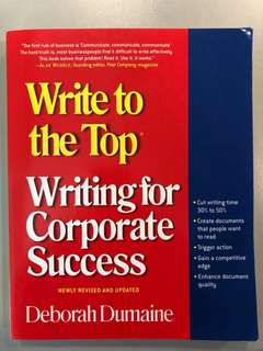 Writing for corporate success