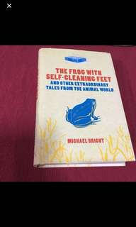 Book: The Frog with the Self Cleaning Feet by Micheal Bright