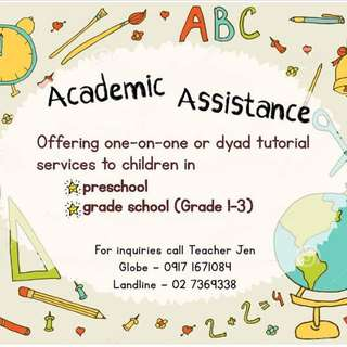Academic Assistance (Tutorial Services)