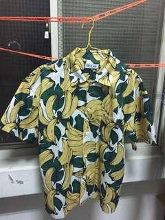 🚚 香蕉 襯衫