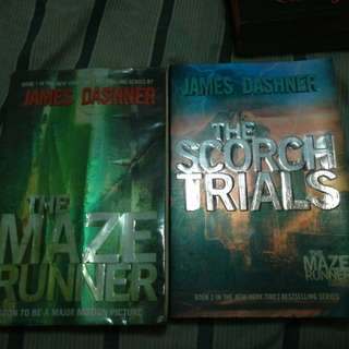 The Maze Runner and Scorch Trials