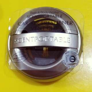 Bbw Scentportable Metallic Round Visor Clip Holder