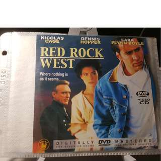 VCD - RED ROCK WEST (1993) nicolas cage lara flynn boyle dennis hopper crime thriller