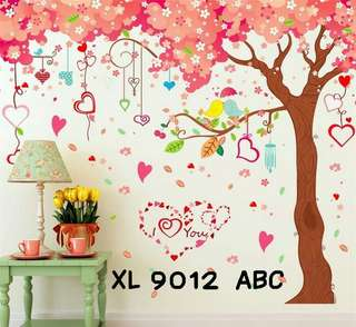 Wallsticker Uk. 3x60x90 Motif Pohon Cinta