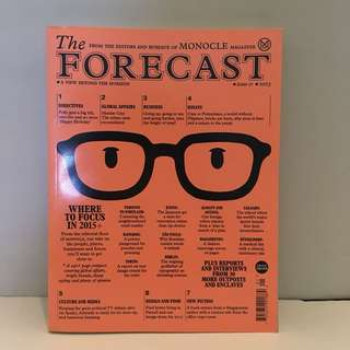The Forecast - Monocle (Issue 01/2015)