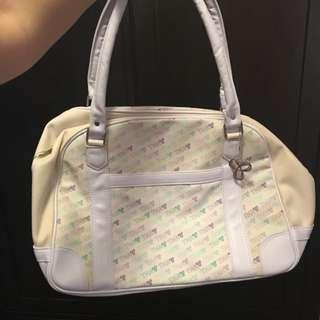 TNA White Duffle Bag
