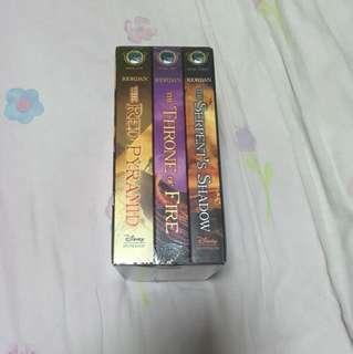 [BNIP] The Kane Chronicles Complete Series By Rick Riordan