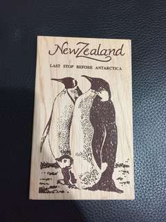 Wooden Postcard from New Zealand
