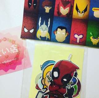 Sticker Marvel Hero