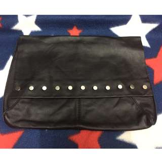 ASOS Leather Clutch