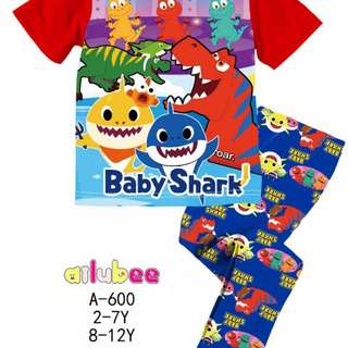 BLUE BABY SHARK PYJAMAS