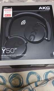 BN AKG headphones model y50bt