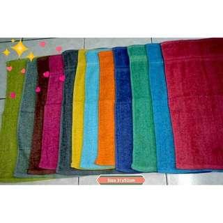 1.biji tuala hand Rm2 murah cheep towels hand minimum 12pcs 31x52cm   RM2.00