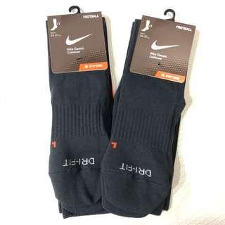 Nike 黑色足球長襪