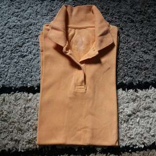 Authentic Dickies Polo Shirt (light orange)