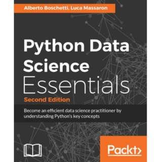 Python Data Science Essentials - Second Edition eBook