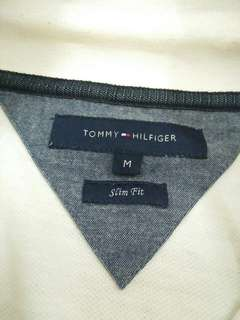 Tommy Hilfiger White Long Sleeve Polo shirt
