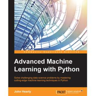 Advanced Machine Learning with Python ebook