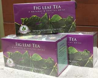 FIG LEAF TEA  (A NATURAL & HEALTHY DRINK) Ficus carica