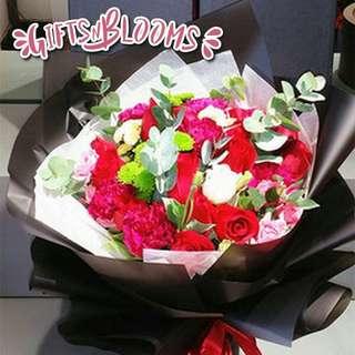 Flower Bouquet∕Hand Bouquet∕Birthday Bouquet∕Anniversary Bouquet∕Proposal Bouquet  - 92AD9     68