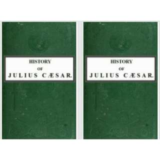 History of Julius Caesar: Volume I & II by Emperor of the French Napoleon III