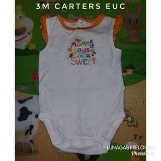 3m carters onesie