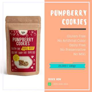 Ladang Lima Pumpberry Cookies