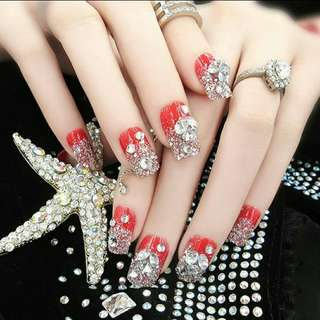 FAKE NAILS FOR PARTY (6)