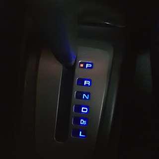 Lancer cs3 gearbox led light