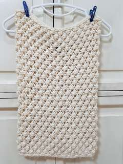 FREE!!! H&M Infinity Knitted Cream Scarf