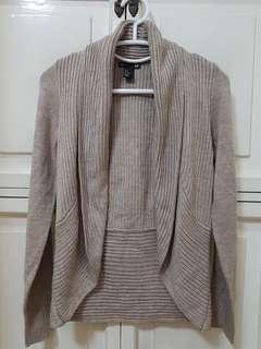 PROMO - H&M light brown cardigan