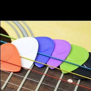 Colourful Guitar Pick