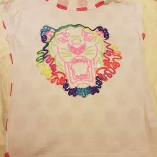 Colourful Tiger Tee