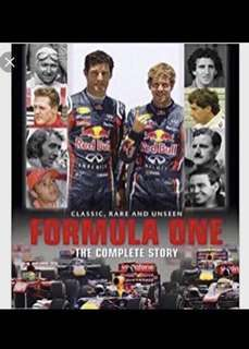 New and Sealed Hardcover Book,  Formula One The Complete Story, Classic Rare and Unseen. 336 pages cheap