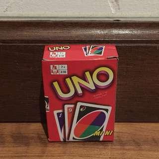 Mini Version Uno Card Game