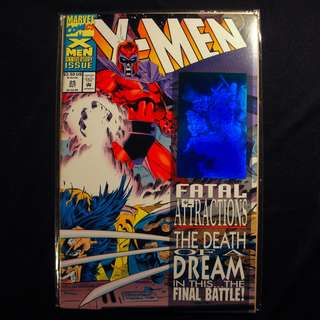 X-MEN #25 Fatal Attractions (1993 Marvel) Andy Kubert
