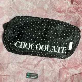 U Magazine  CHOCOOLATE 水玉 Dot 柄旅斜孭袋 shoulder bag