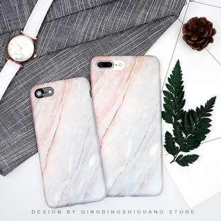 粉色系漸變色大理石 iPhone Case(5s)