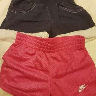 2 shorts for 3 yos