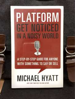 # Highly Recommended《Bran-New + A Step-By-Step Guide For Anyone With Something To Say Or Sell》Michael Hyatt - PLATFORM : Get Noticed in a Noisy World