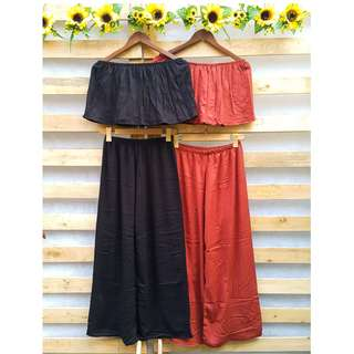 Terno Off Shoulder Top and Pants