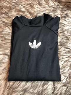 Adidas long sleeve fit black  top