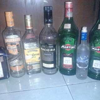 Botol bekas minuman