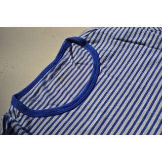 Mens Club Monaco Long Sleeve Stripe