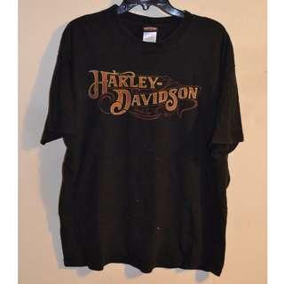 VTG Mens Harley Davidson T-shirt Size L