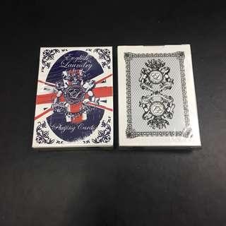 English Laundry Playing Cards