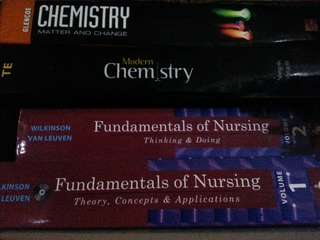 Chemistry and Nursing Books